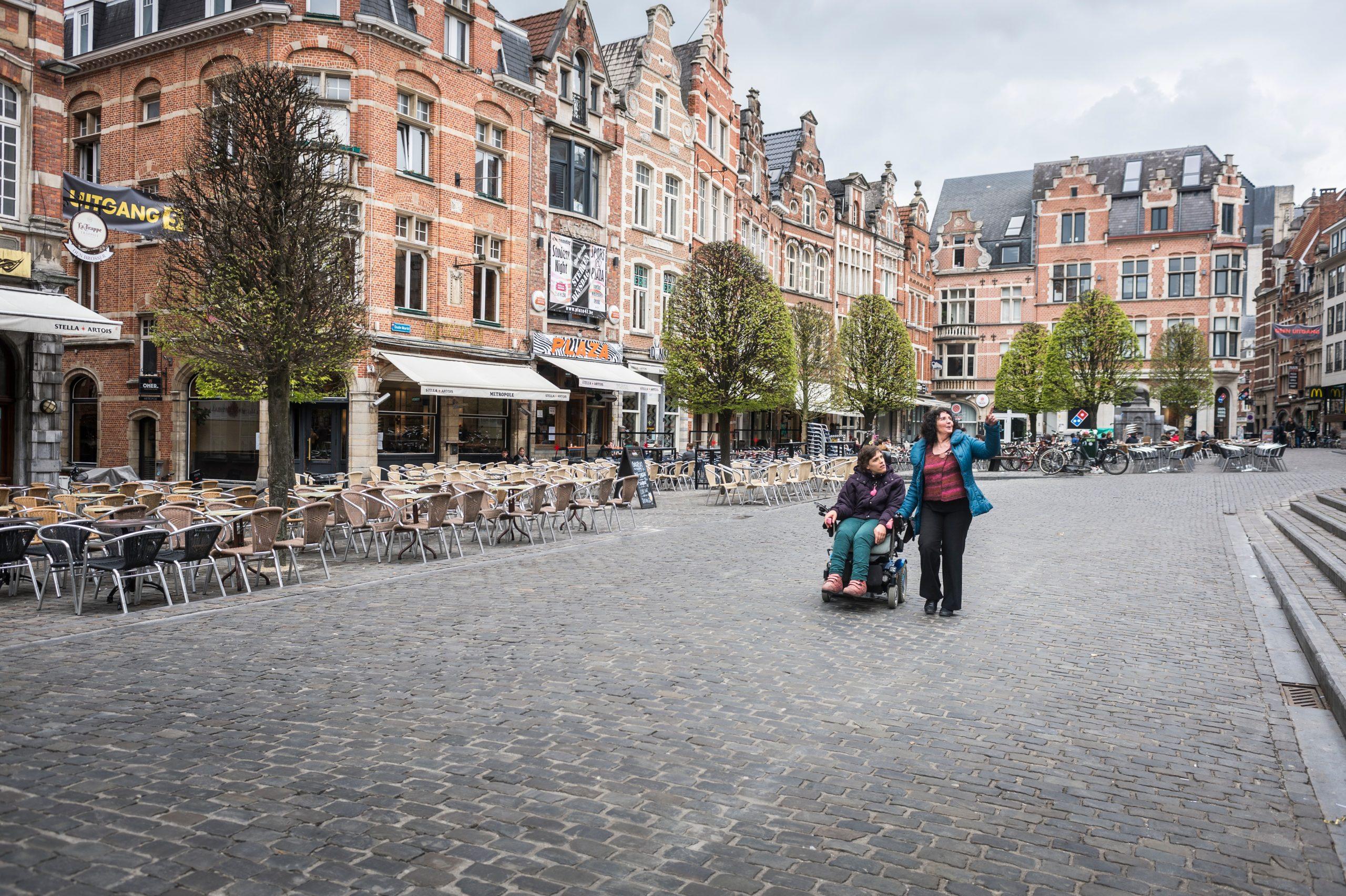 Leuven Haalt Het Handvest Toegankelijke Gemeente